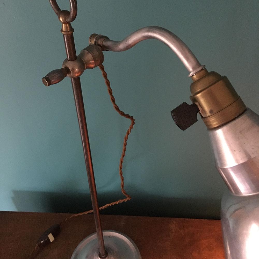 lampe vinatge métal