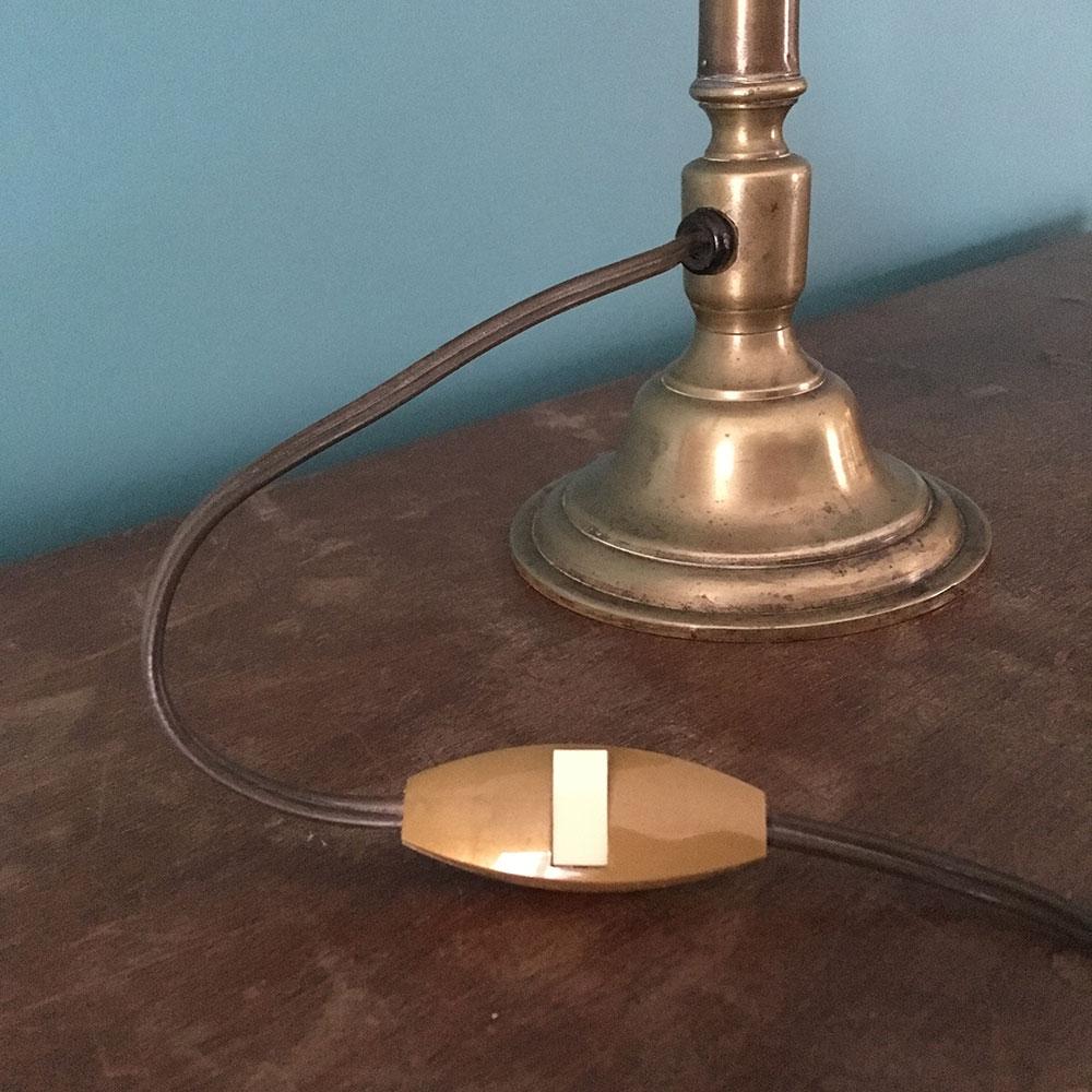lampe de table restaurée