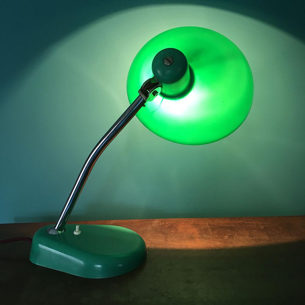 Lampe vintage de bureau