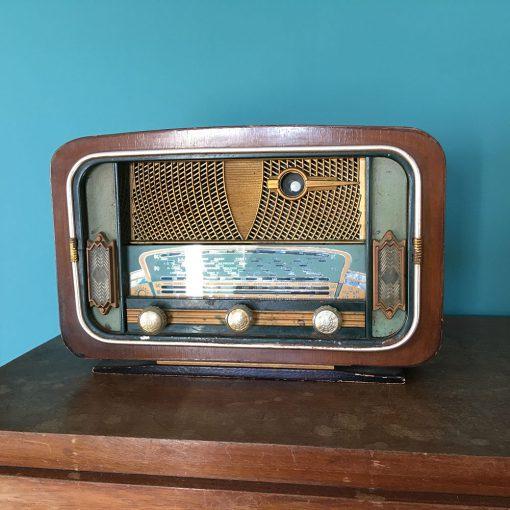 ancienne radio vintage