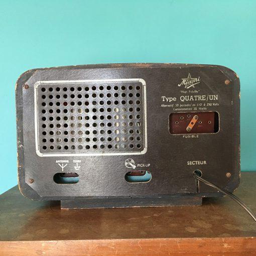 petite radio vintage Miami
