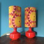 lampe de chevet vintage année 70