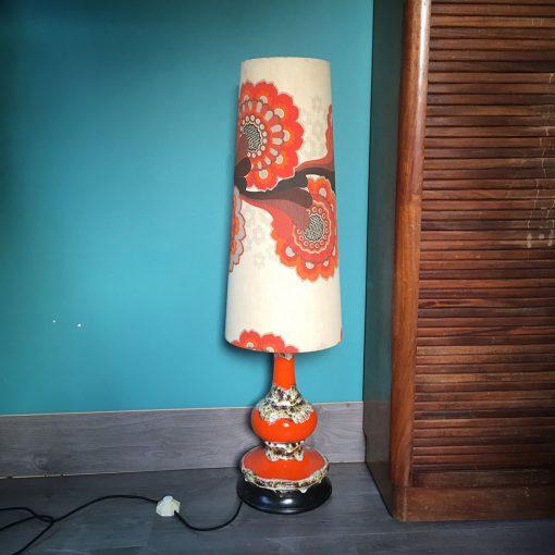 lampe de sol vintage style vallauris