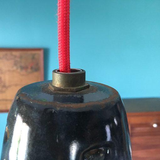 suspension industrielle fil rouge