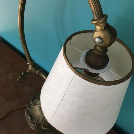 abat-jour carton lampe ancienne