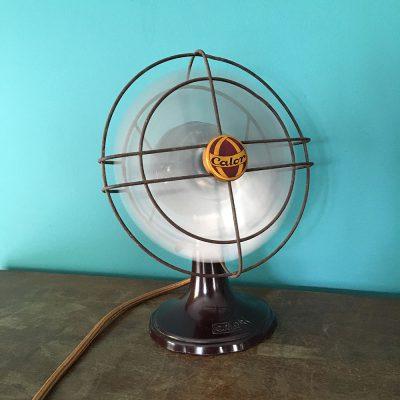 Ventilateur Calor ancien allumé