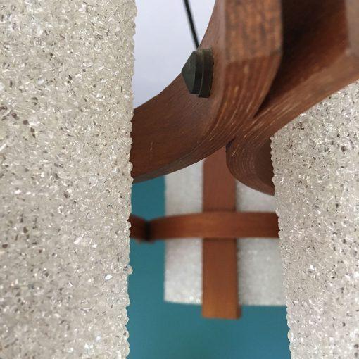 lustre scandinave teck et parspex