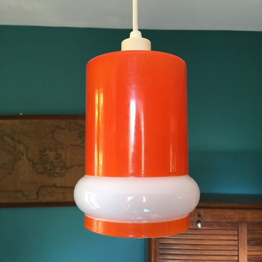 suspension vintage oapline orange