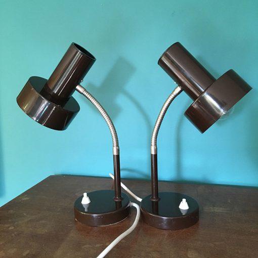 paire lampe bureau vintage