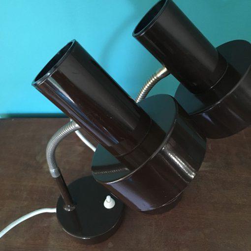 lampes de bureau vintage métal