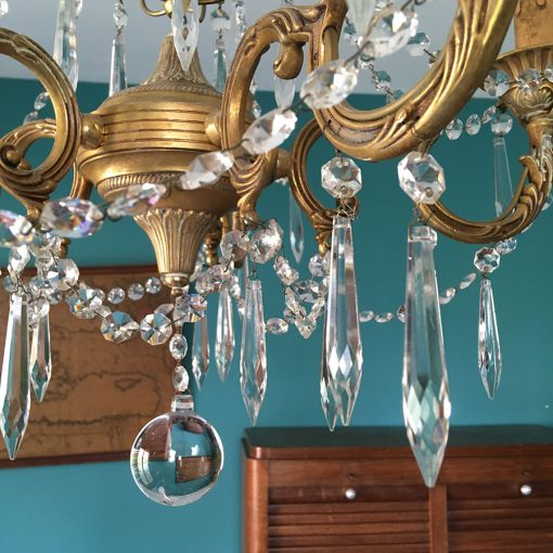 lustre pampilles cristal glacon