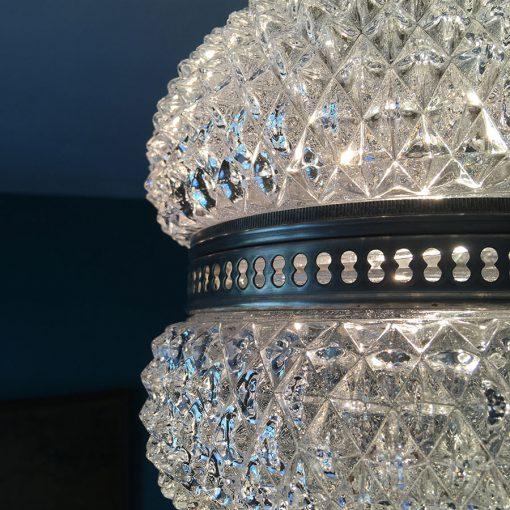 lustre ancien diamant allumé