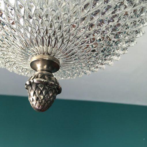 lustre ancien verre gland